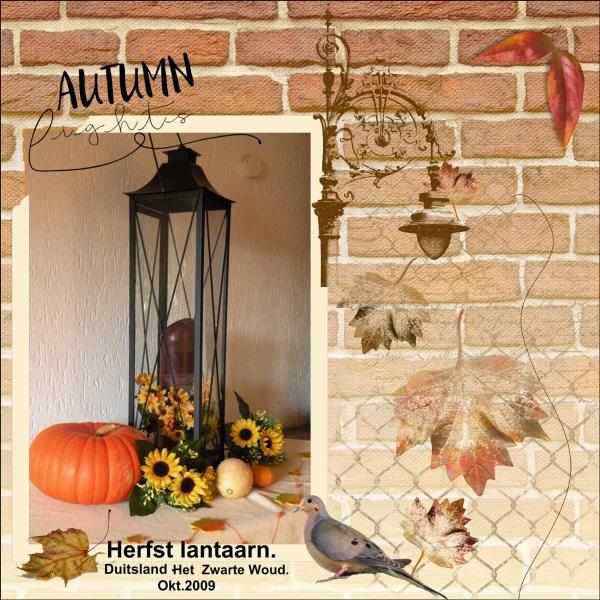 lo 2 - Nov.15 - Herfst lantaarn