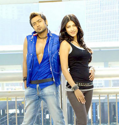 Surya and Shruthihasan latest stills