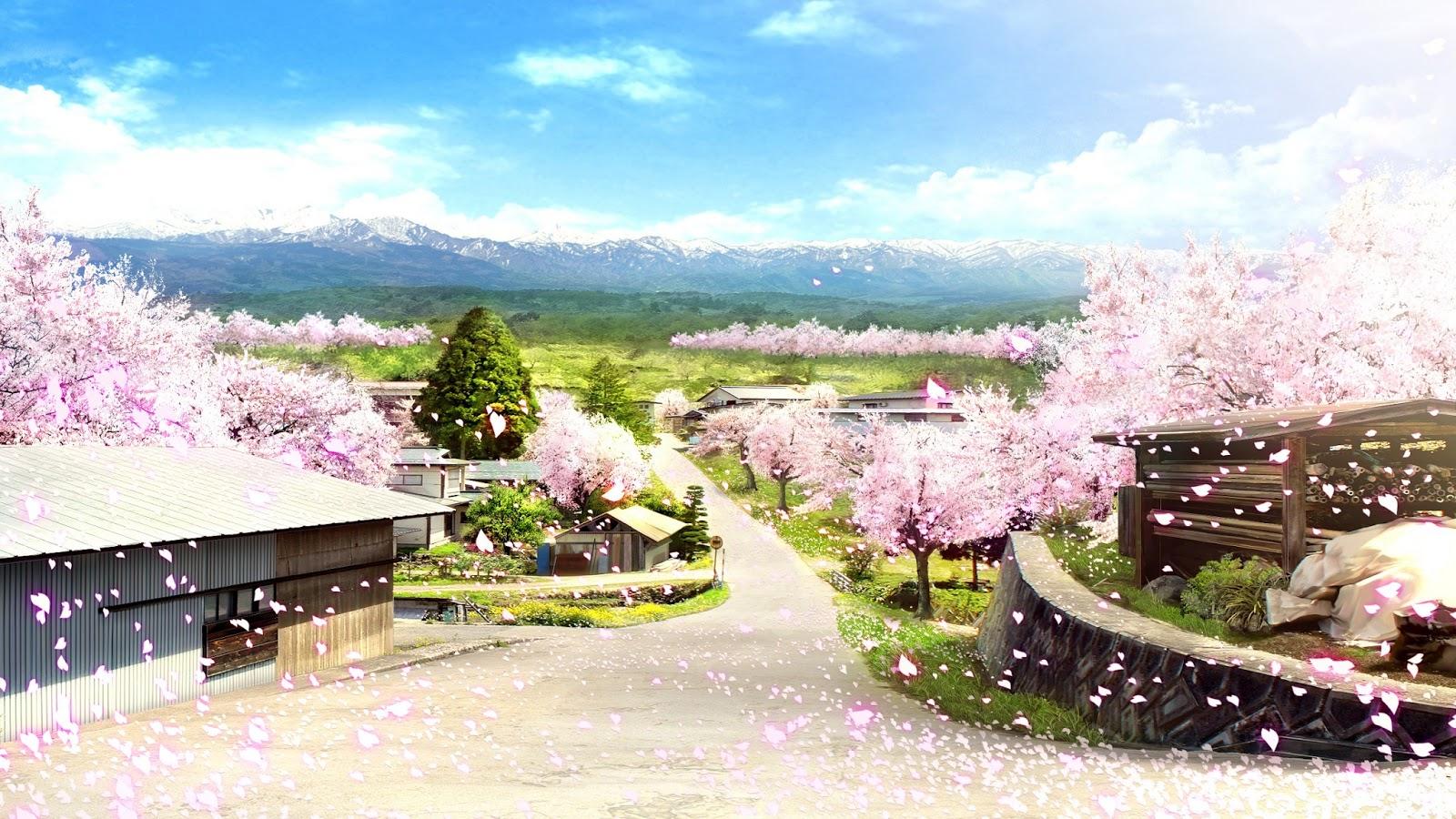 Anime Landscape: City Anime Landscape