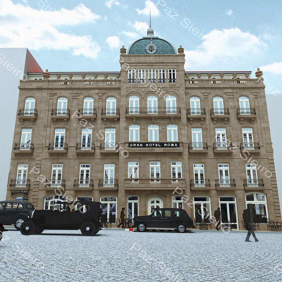 Gran hotel roma 1914 r a do progreso ourense - Arquitectos ourense ...