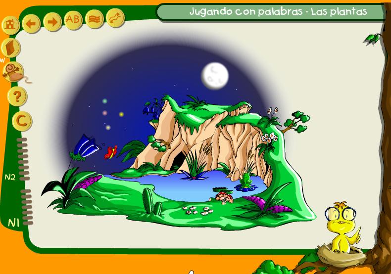 JUEGO DE LAS PLANTAS