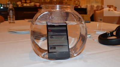 Sony Xperia Z is Water and Dust resistant