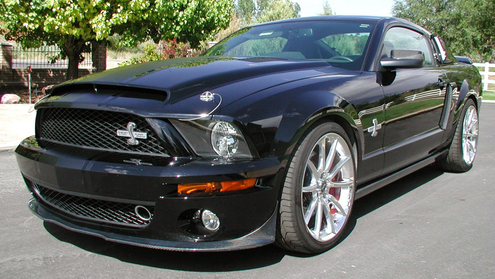 For sale 2008 ford mustang shelby gt 500 super snake 725 hp
