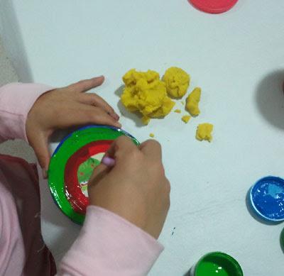coloreando tapa