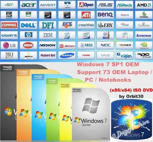 windows 7 sp1 orbit30