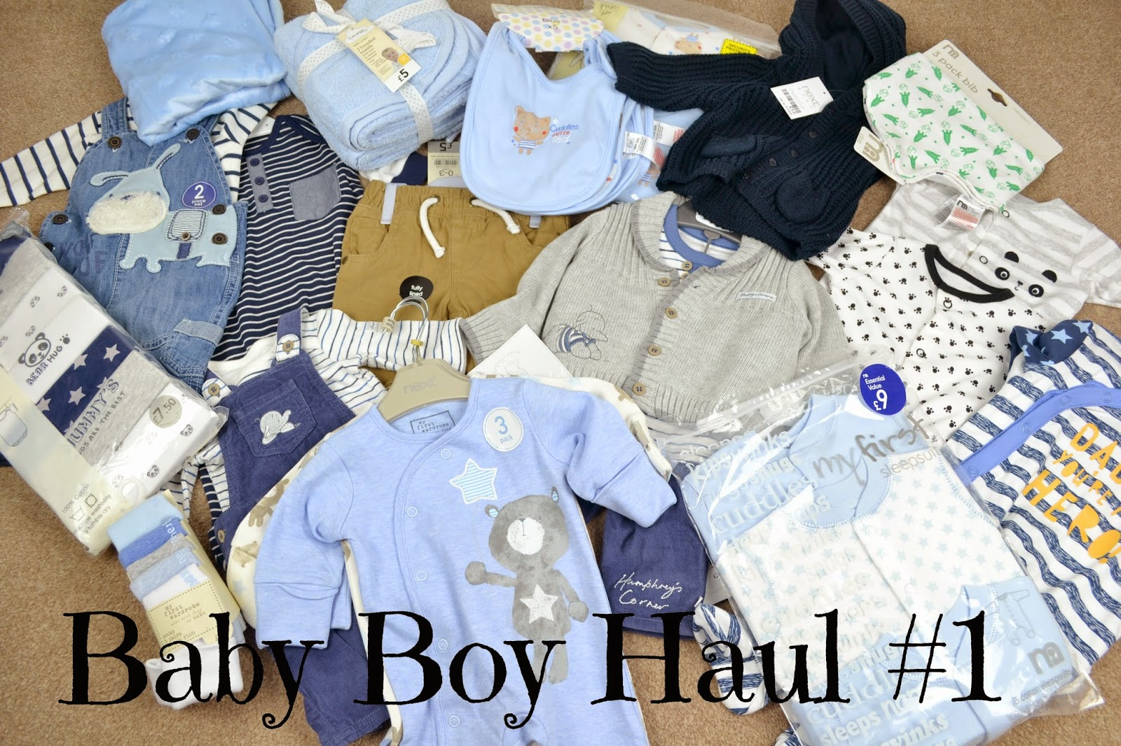 Baby boy haul 1 The Pampered Mum