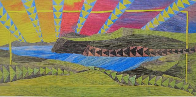 scotland landscape quilt