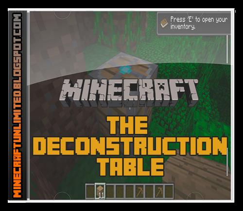 Deconstruction Table Mod cover