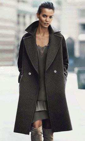H&M otoño invierno 2014 2015 abrigo