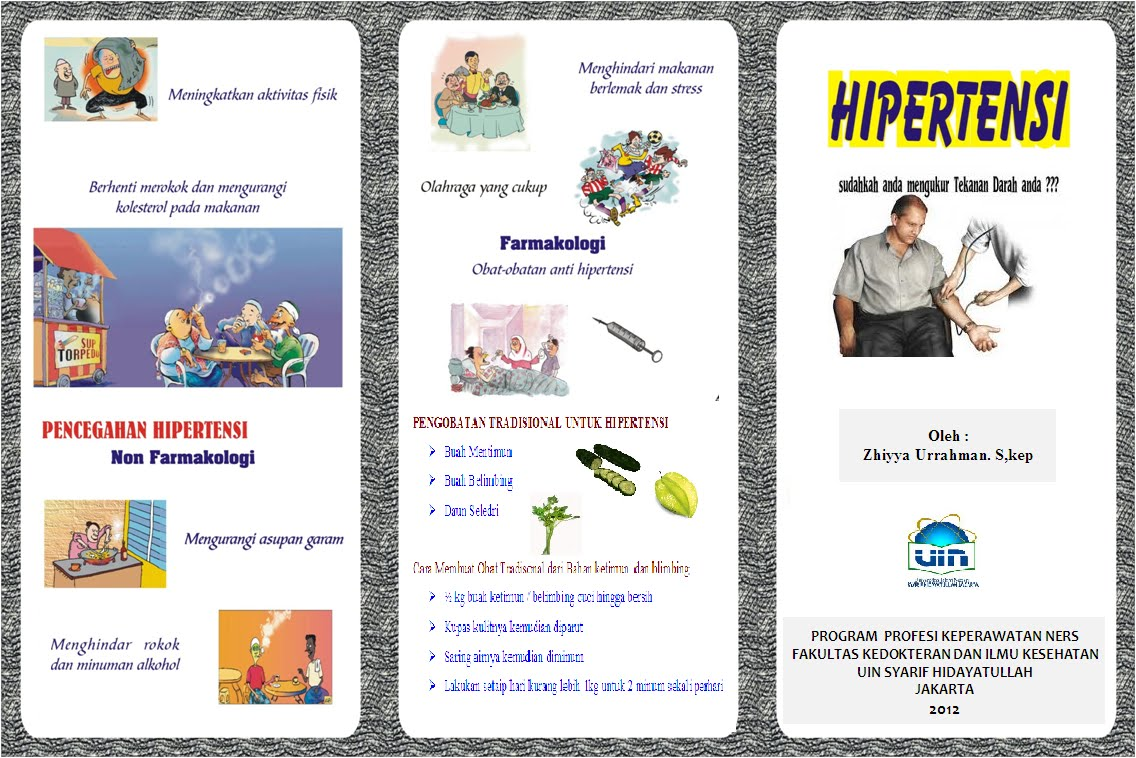 SAP dan Leaflet Hipertensi | R.A.K.E.L