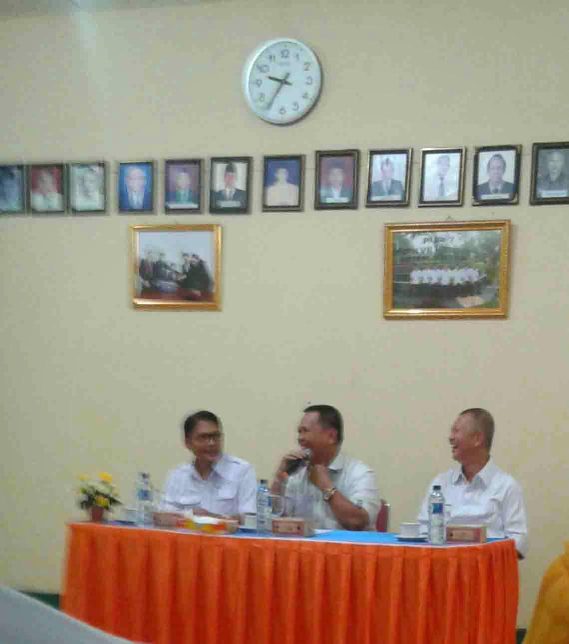 Berita Kumis Kucing-Sambutan General Manajer PTPN 7 Banyuasin