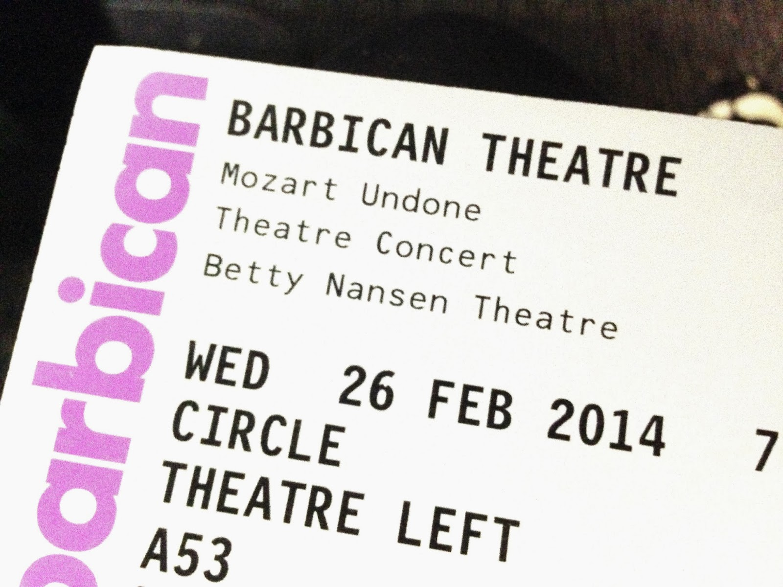 Mozart Undone Tickets