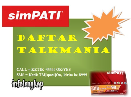talkmania telkomsel, talkmania simpati, simpati talkmania