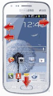 Cara Membuka Kunci SAMSUNG S7562 Galaxy S Duos