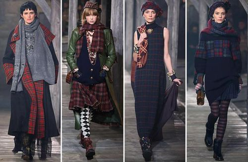 tartan patterns fashion