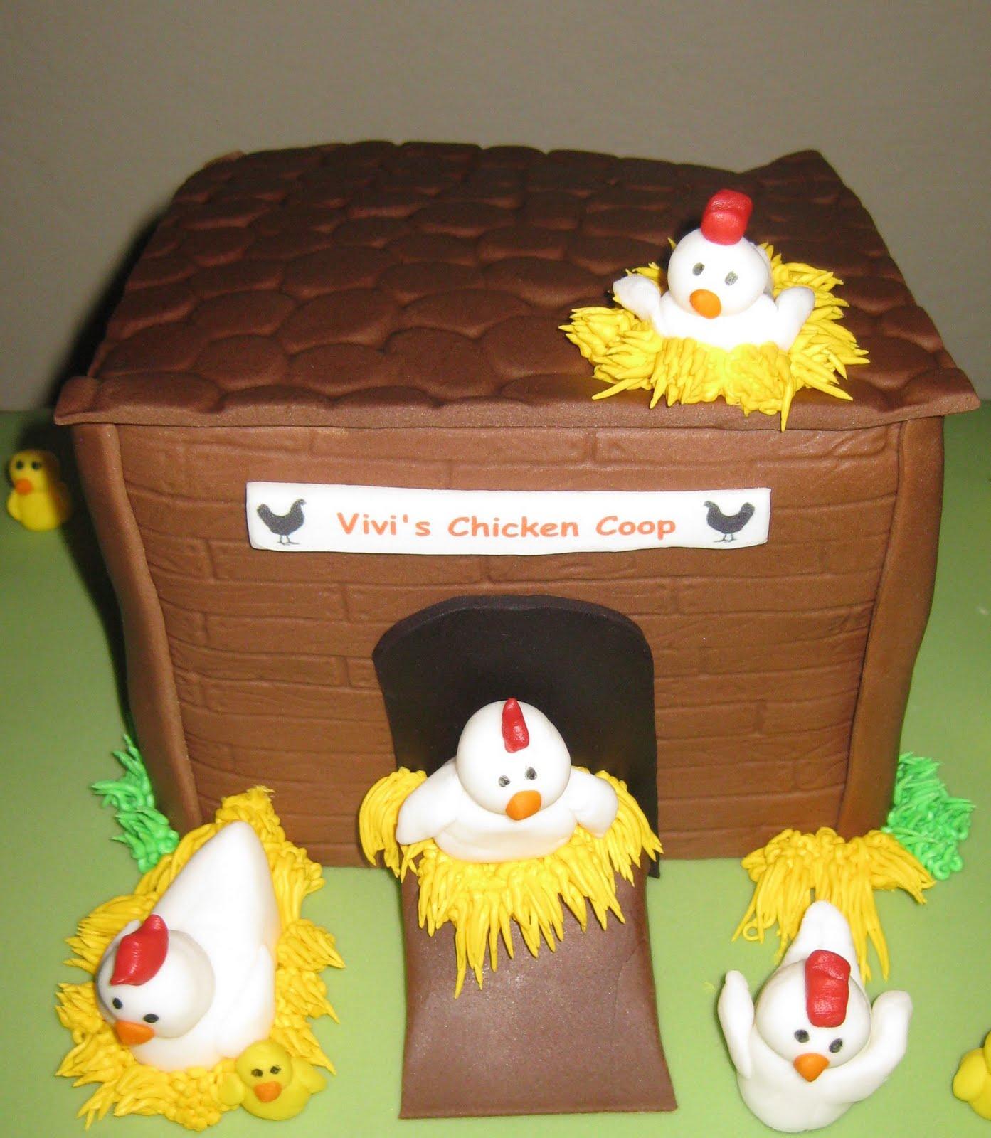 Jacquelines Sweet Shop Chicken Cake