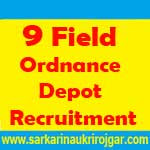 9 Field Ordnance Depot Recruitment