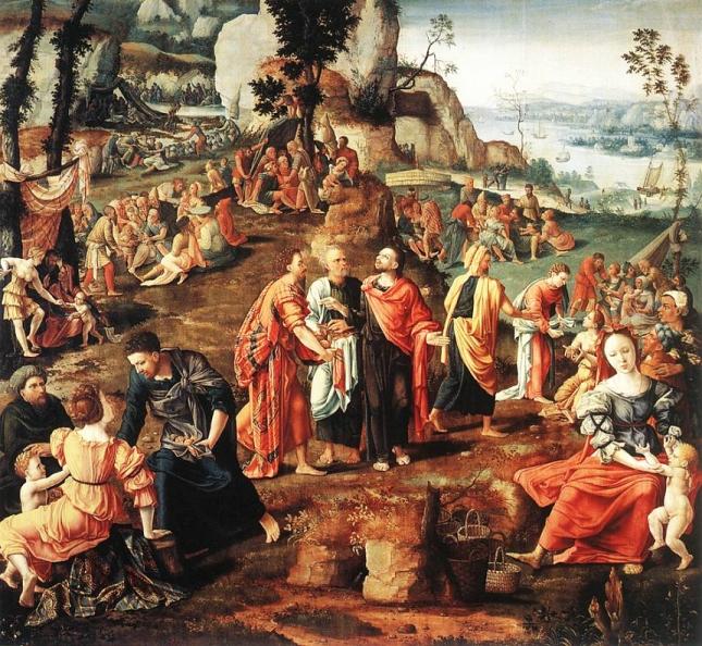 Jesus Feeds 4000