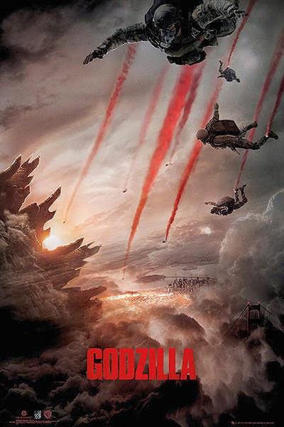 Cartel nuevo Godzilla