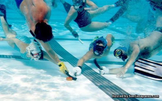Pertandingan Hockey dalam air