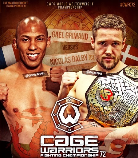 Cage Warriors 72 Fight Card