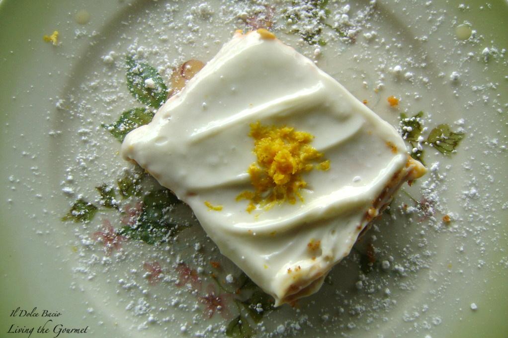 Pumpkin Cheesecake Squares - Living The Gourmet