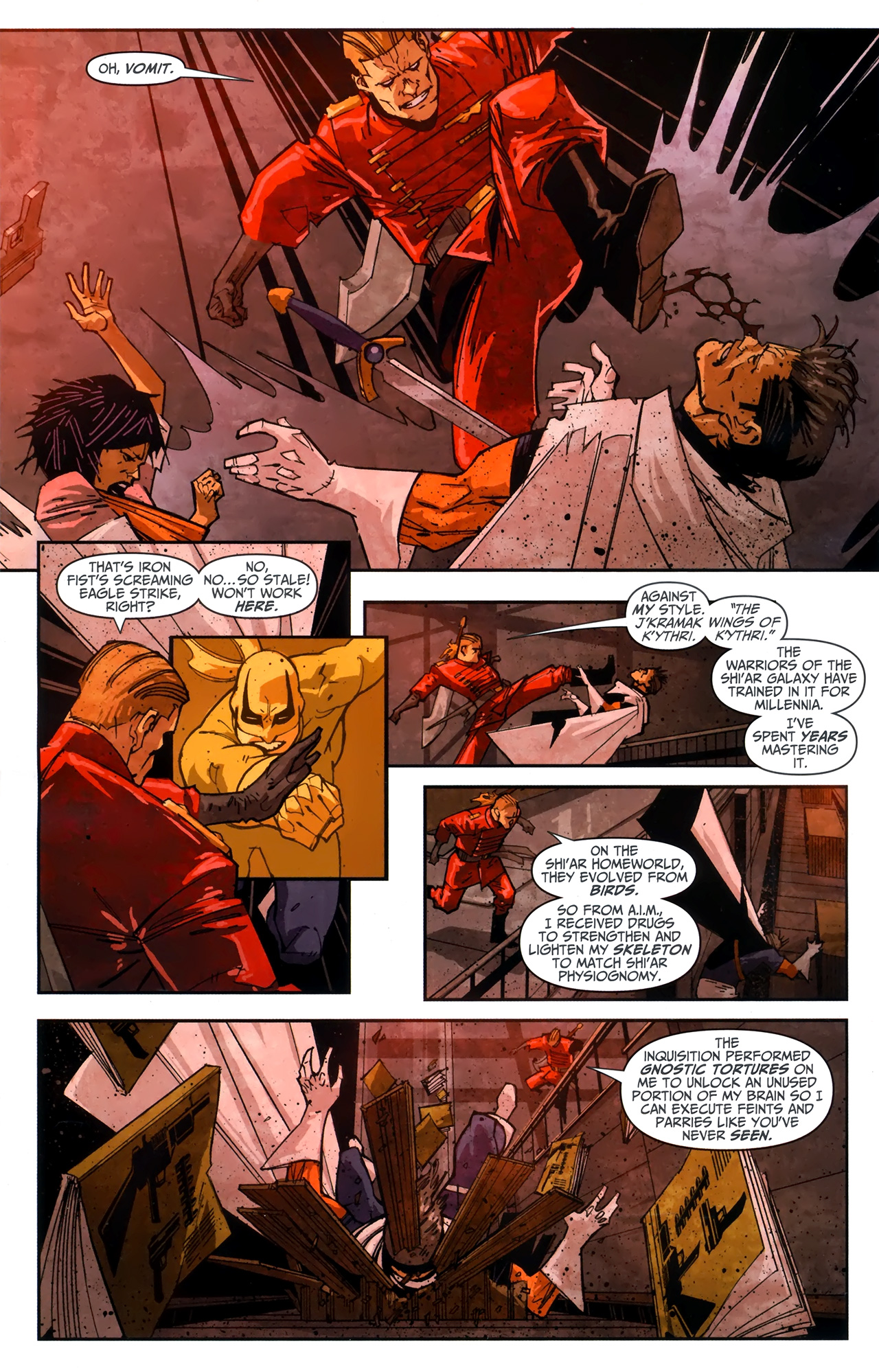 Read online Taskmaster (2010) comic -  Issue #4 - 15