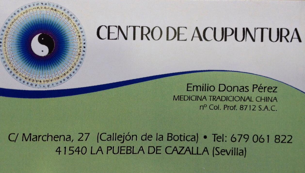 Centro de Acupuntura - Emilio Donas