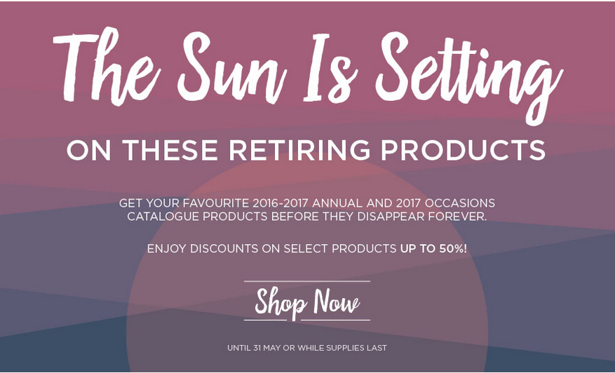 SHOP FOR RETIRING PRODUCTS
