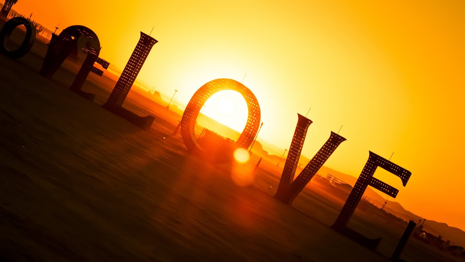 Sunset Love 1920x1080 Wallpaper