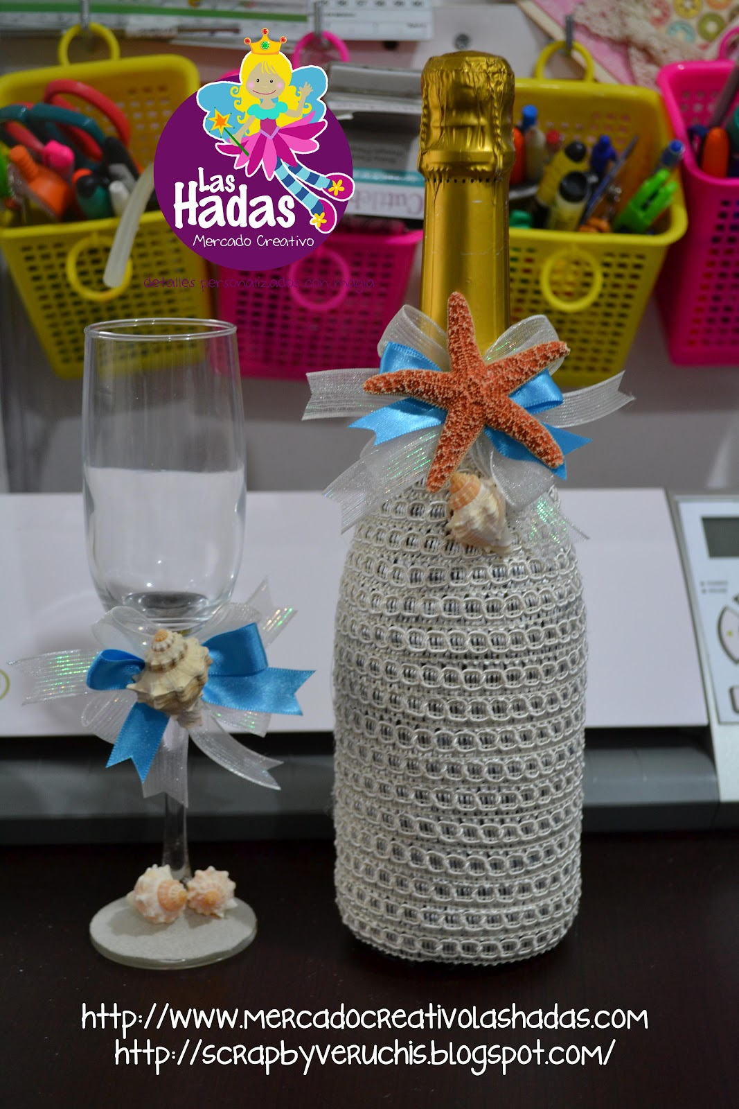 Brindis 50 aniversario de boda - Decoracion de botellas ...