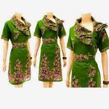 model batik modern