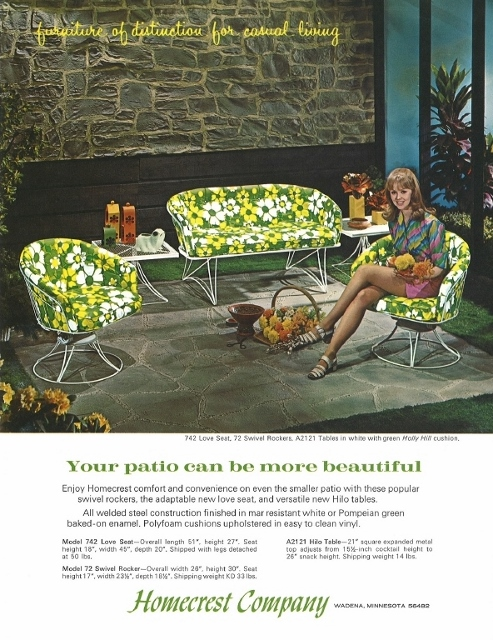 homecrest ad from 1968