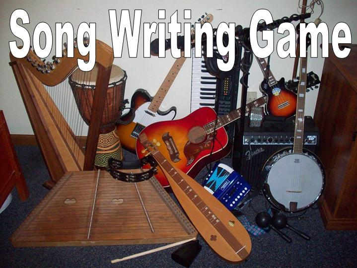 Song Writing Game!