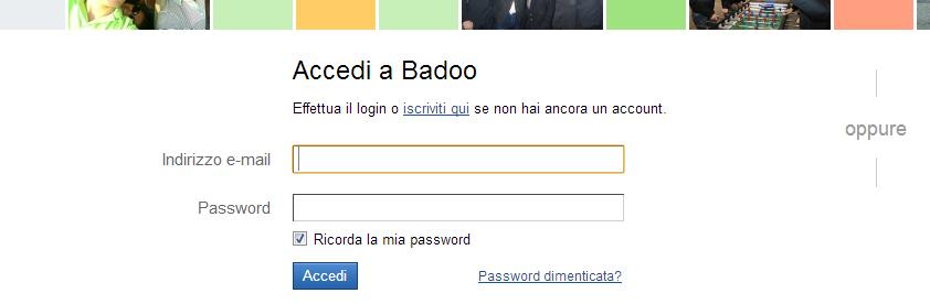 accedi badoo.com
