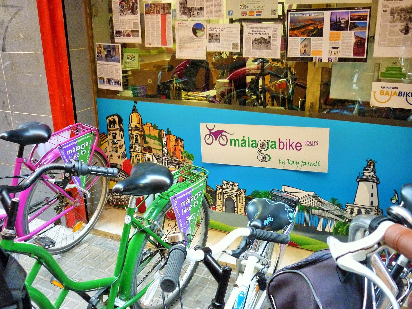 Malaga - Espagne - Malagabike - location de vélo