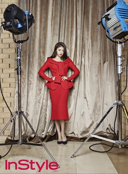 Nina Ricci 2013 AW Tie-Shoulder Wool Jacket and Pencil Skirt Set