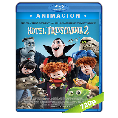 Hotel Transylvania 2 (2015) BRRip 720p Audio Trial Latino-Castellano-Ingles 5.1