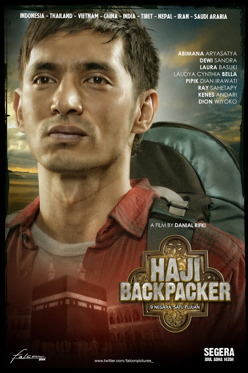 Poster Film Haji Backpacker