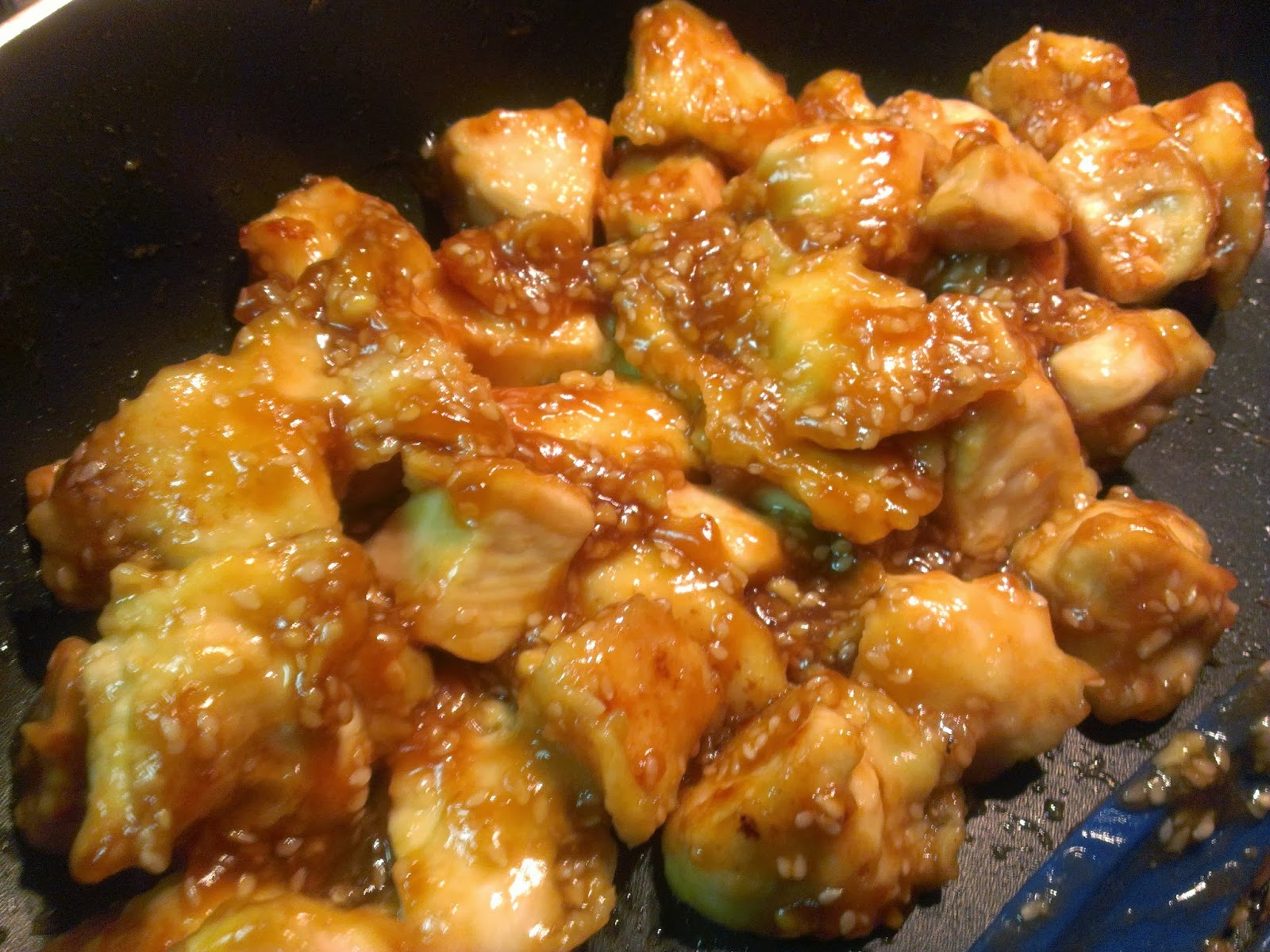 The Hungry Hood: Easy Sesame Chicken