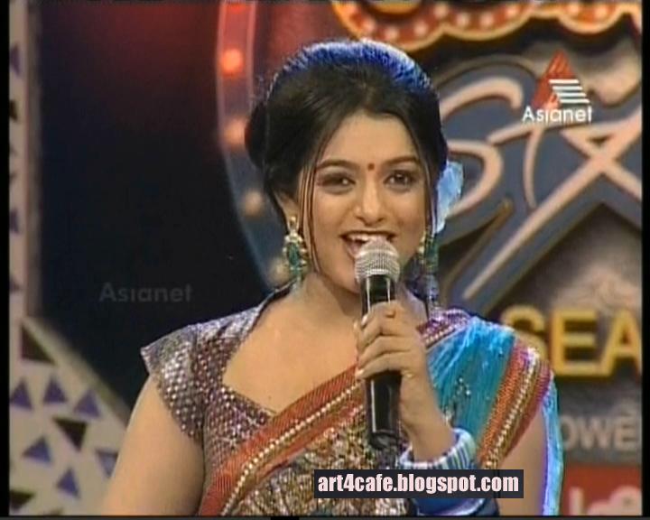 Hot Anchor Meera Meera Anil Anchors Comedy