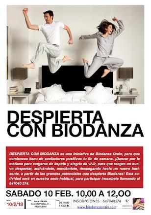 ¡Despierta con Biodanza!