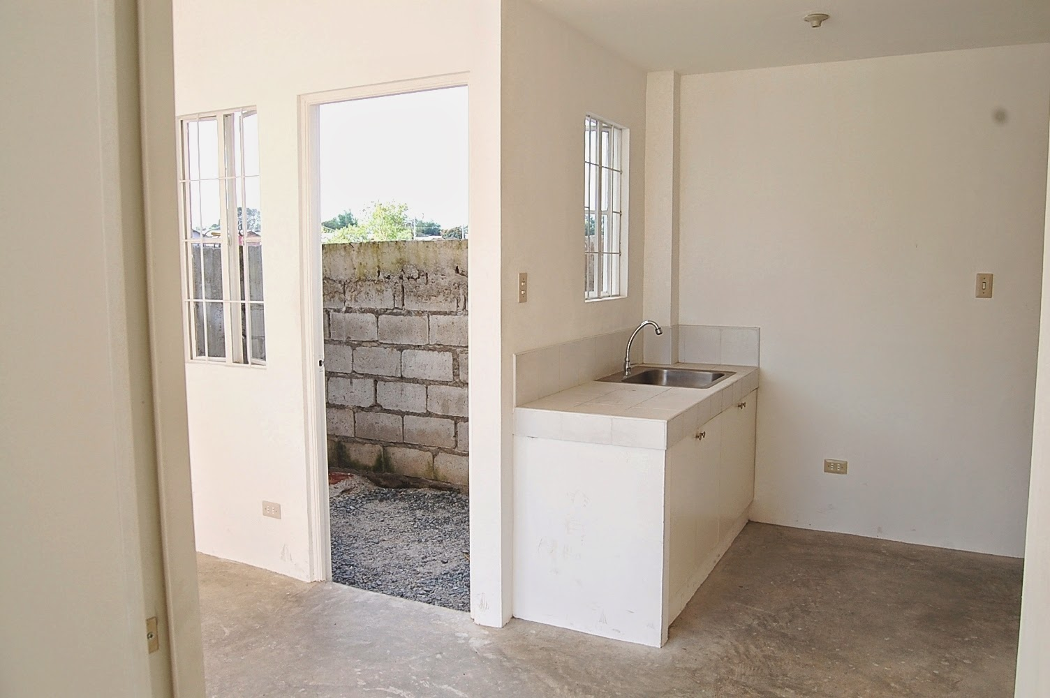 Financing model homes