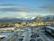 KAL layover in Anchorage