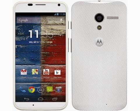 Google e Motorola hanno annunciato l'inizio delle vendite da febbraio 2014 del Moto X anche in Europa
