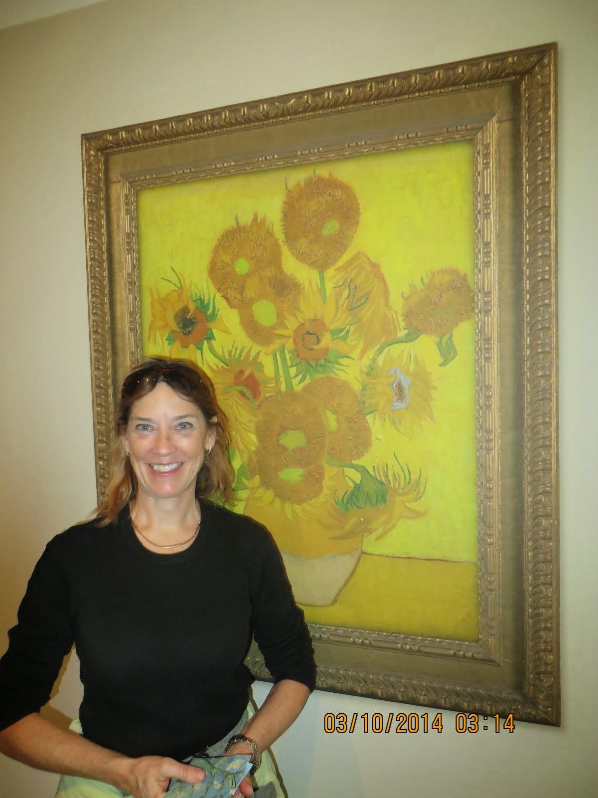 Red Zingers # 1 Fan Valerie Menenberg at Van Gogh Museum, Amsterdam