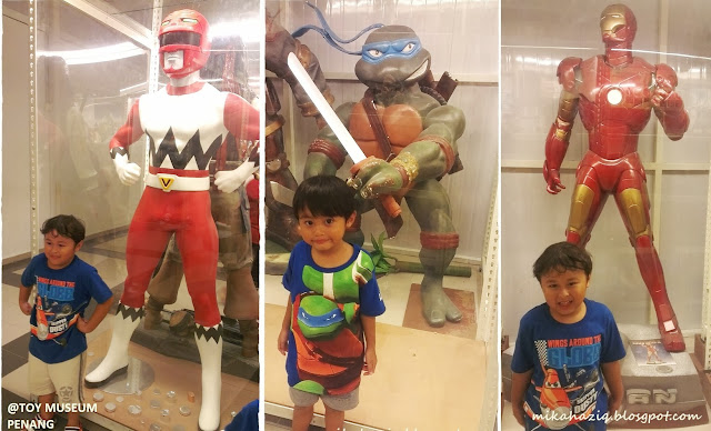 power rangers life size figure