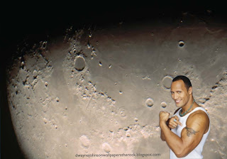 Dwayne Johnson Wallpapers The Rock Shows Biceps Tattoo in Moon Light wallpaper