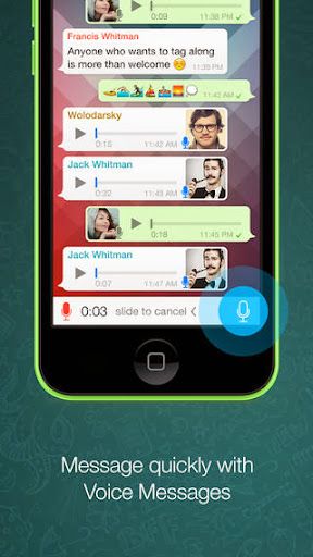 WhatsApp Messenger v2.11.7 for iPhone