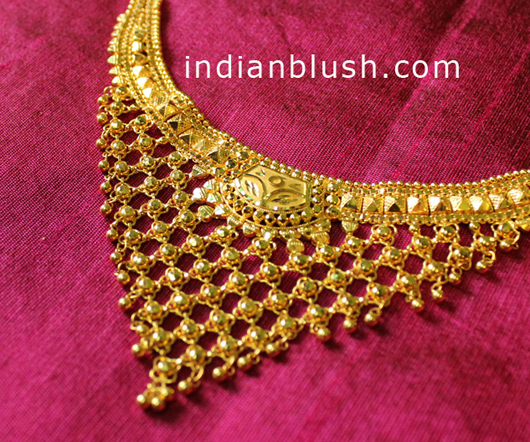 Bengali Gold Necklace for women